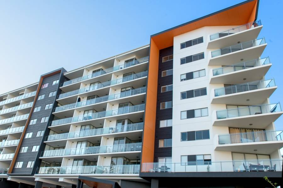 New Construction Kangaroo Point Apartments Painting (2)