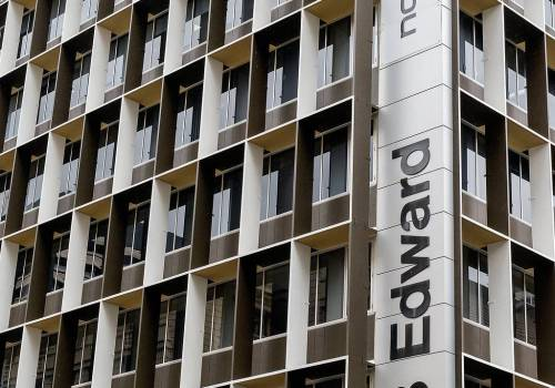 243 Edward St Brisbane Facade Remedial Painting Works