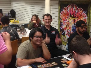 Brian D judges PPTQ Richmond at Halloween Horror Games Day 2017
