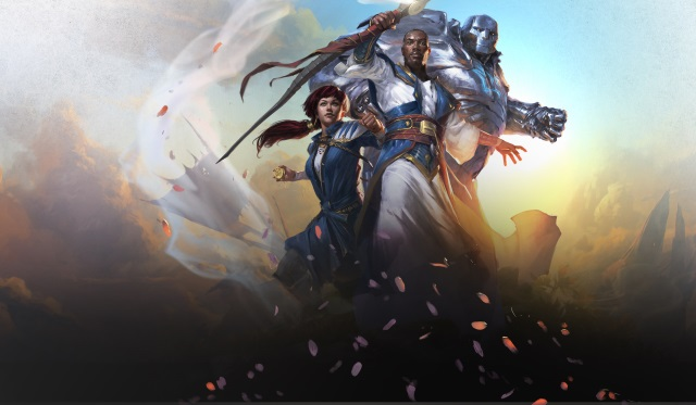 Image used for the Dominaria Prerelease Party and Open Play Event at Leisure Time Games