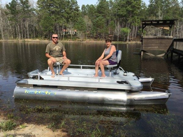 Small Pond King Pontoon Boats