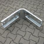 Innenwinkel Stahlschutzplanken