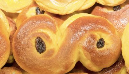 Pane di Santa Lucia la ricetta svedese per la colazione  LEITV