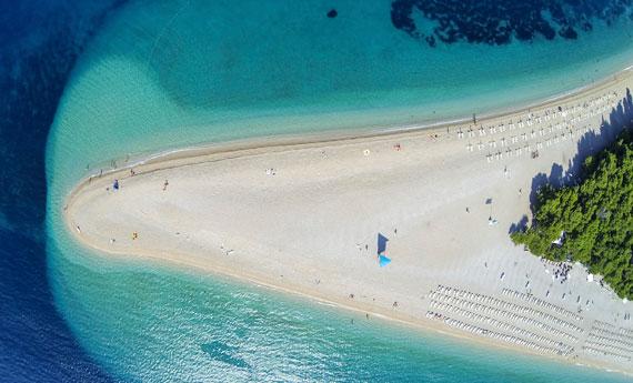 Le 10 spiagge di sabbia pi belle della Croazia  LEITV