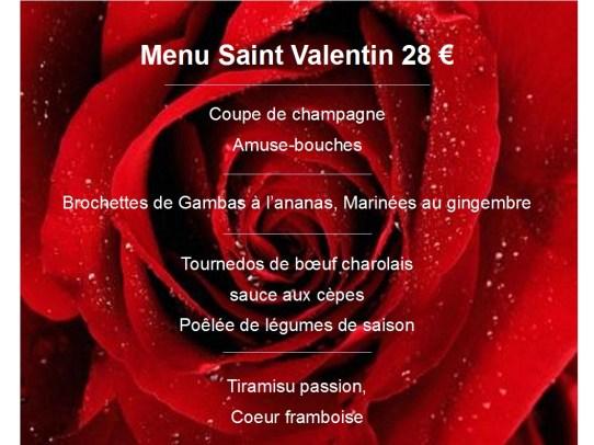 restaurant saint valentin le jardin de l 39 aber. Black Bedroom Furniture Sets. Home Design Ideas