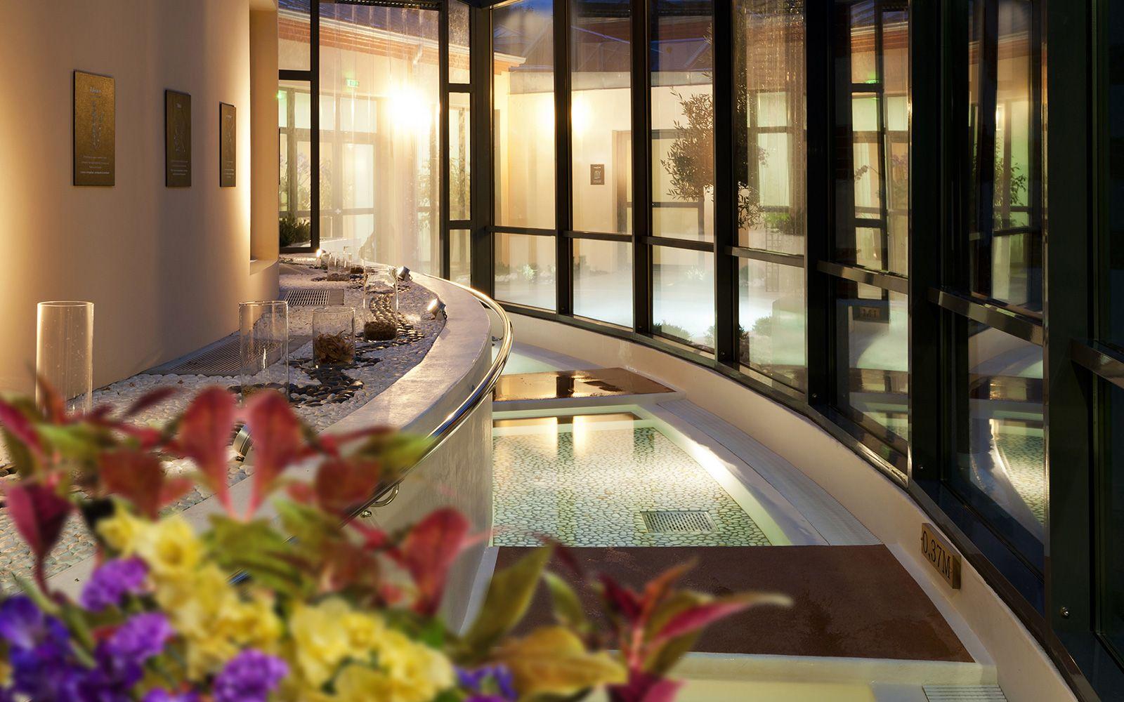 jardin des bains bains et relaxation