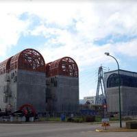 Centrale du Bugey : les charpentes anti-tornades terminées.