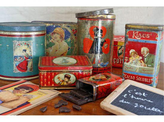 vintage collection d anciennes boite