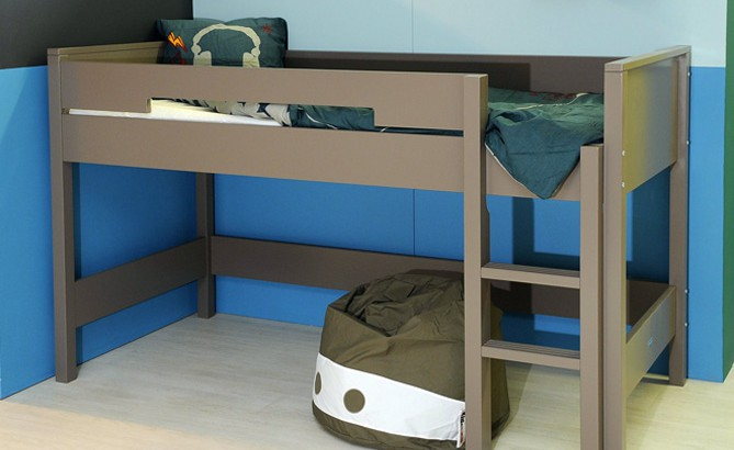 un lit mezzanine pour enfant 6 ans et