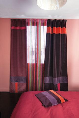 6 des rideaux en velours pour habiller