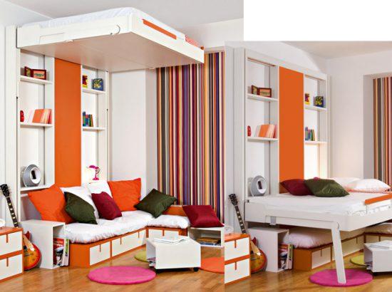 Des Lits Qui Montent Au Plafond Le Journal De La Maison