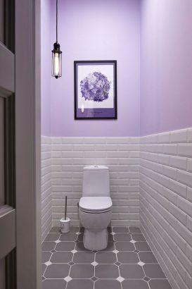 relooking toilettes decoration couleurs