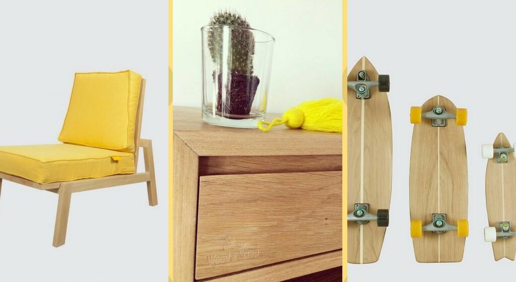 wood and scrap meuble decoration design
