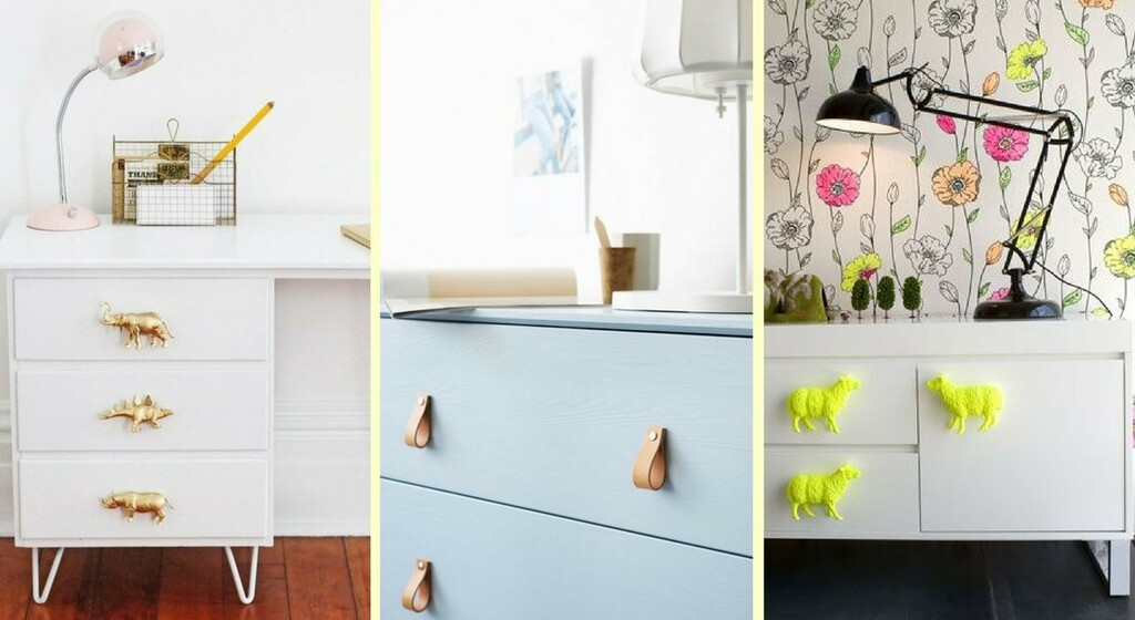 diy 10 poignees de meubles qui changent