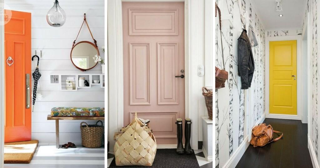 15 ides de couleurs pour relooker sa porte dintrieur