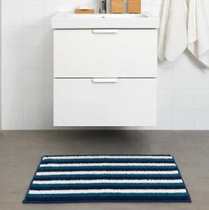 toftbo tapis de bain multicolore 50