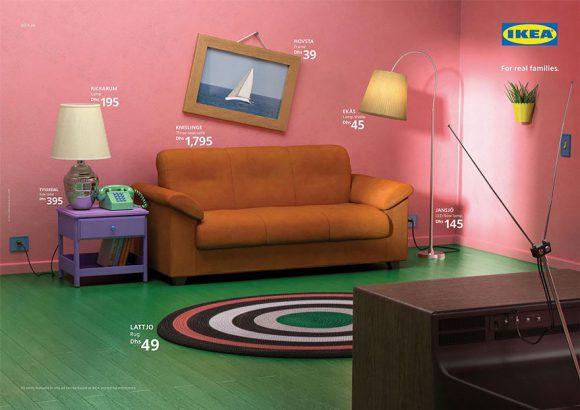 Ikea Recree Les Salons De Plusieurs Series Cultes