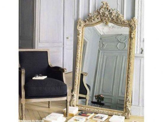 12 miroirs a poser au sol pour un effet