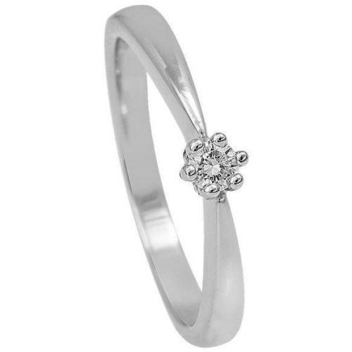 Fabiani Diamant KrappenRing Weissgold 585