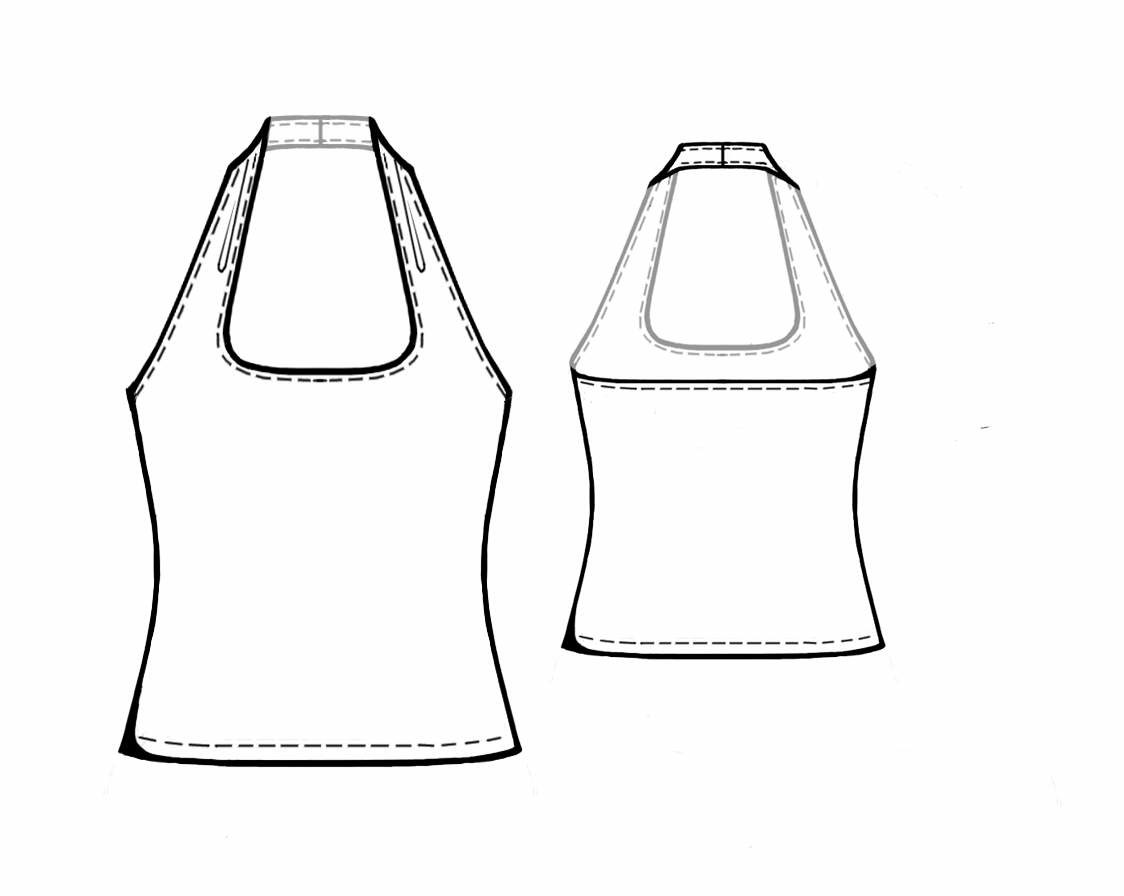 Sewing Patterns For Halter Tops