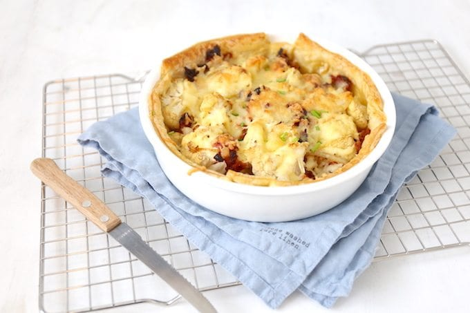 """Cauliflower quiche with bacon"""" width = """"680"""" height = """"453"""" /> </strong data-recalc-dims="""