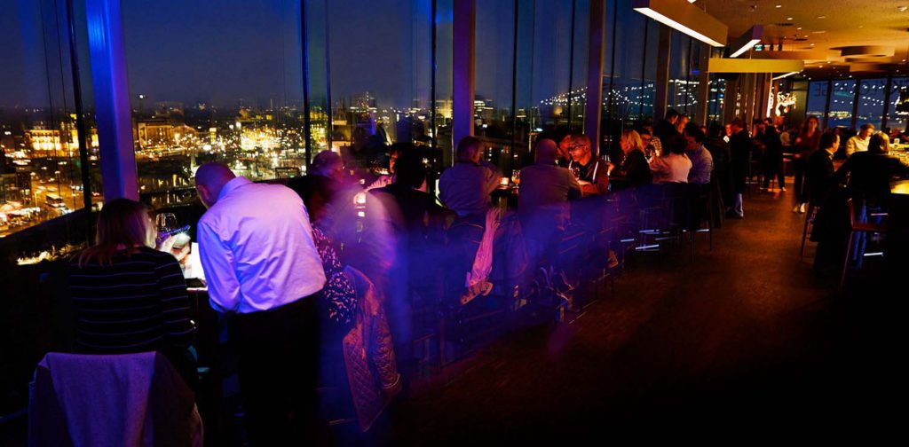 Skylounge Terrace Amsterdam