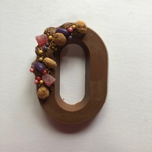 Chocoladeletter O - Letters van Naomi