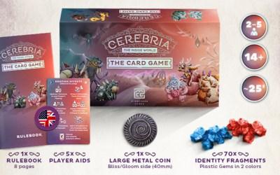 Kickstarter: Cerebria Le Jeu de Cartes !!!