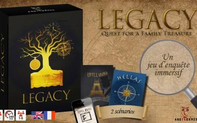 Kickstarter: Legacy Hellas