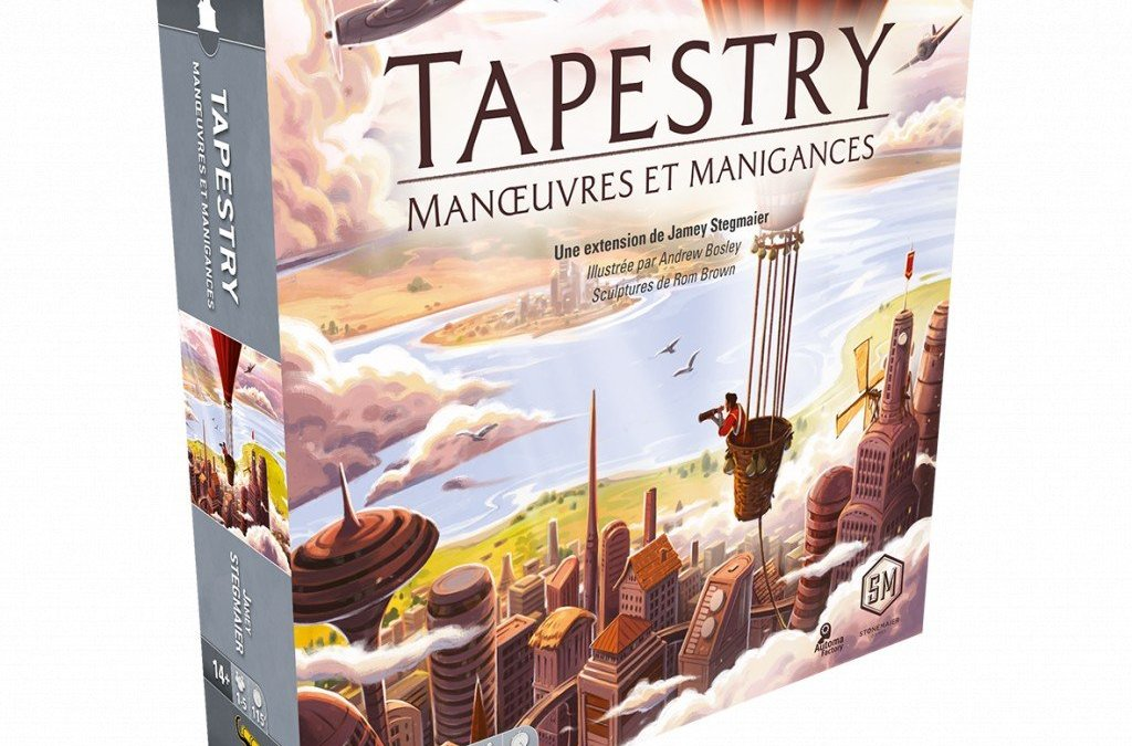 Test: Tapestry extension Manœuvres et Manigances