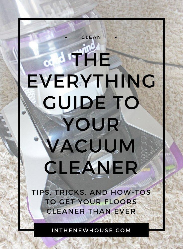 vacuum cleaner help guide