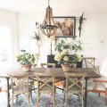 eclectic rustic dining room