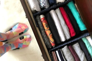diy dresser organizer