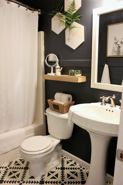 Small Bathroom Remodel Reveal Organized Ish By Lela Burris