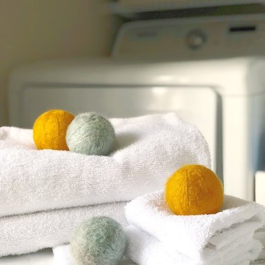 eco-friendly dryer balls