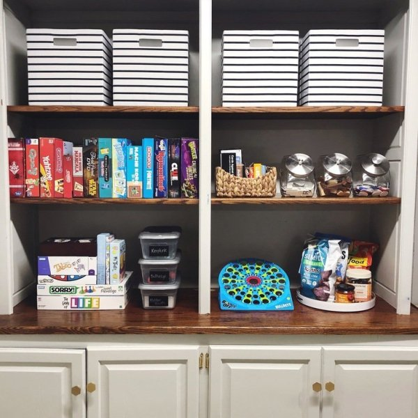 how to keep board games organized