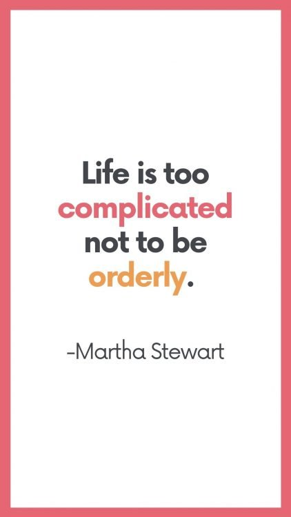 best organization quotes for moms
