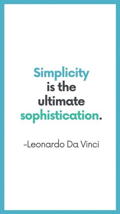 quotes about minimalism