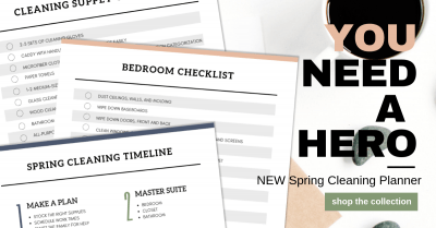 Spring Cleaning Planner by lela burris