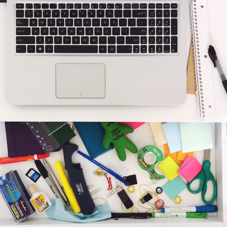 Drawer Organization Tutorial -Before