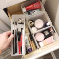 organized bathroom drawer