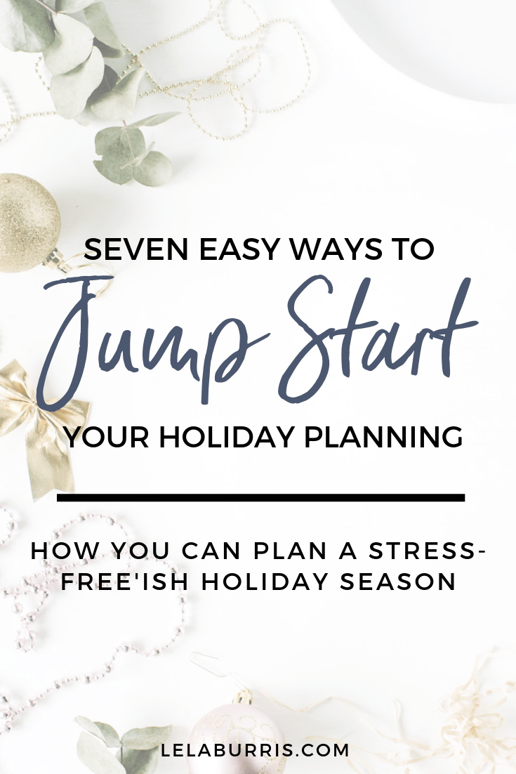 start holiday planning