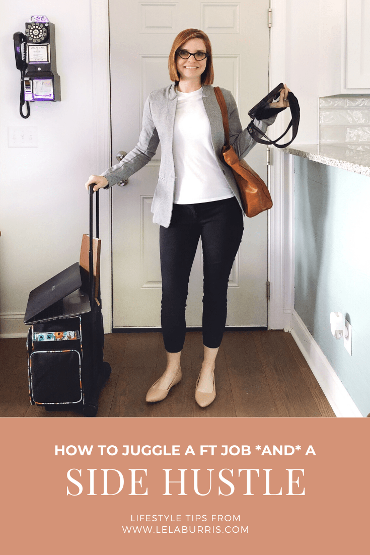 5 tips for juggling a full time job and a side hustle