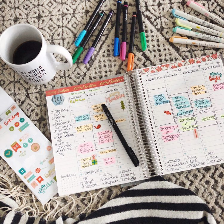 how to set up a new planner