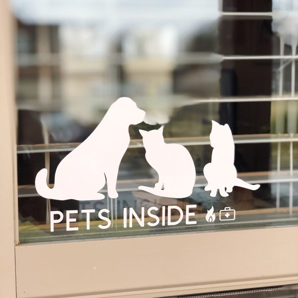 emergency decals for pets