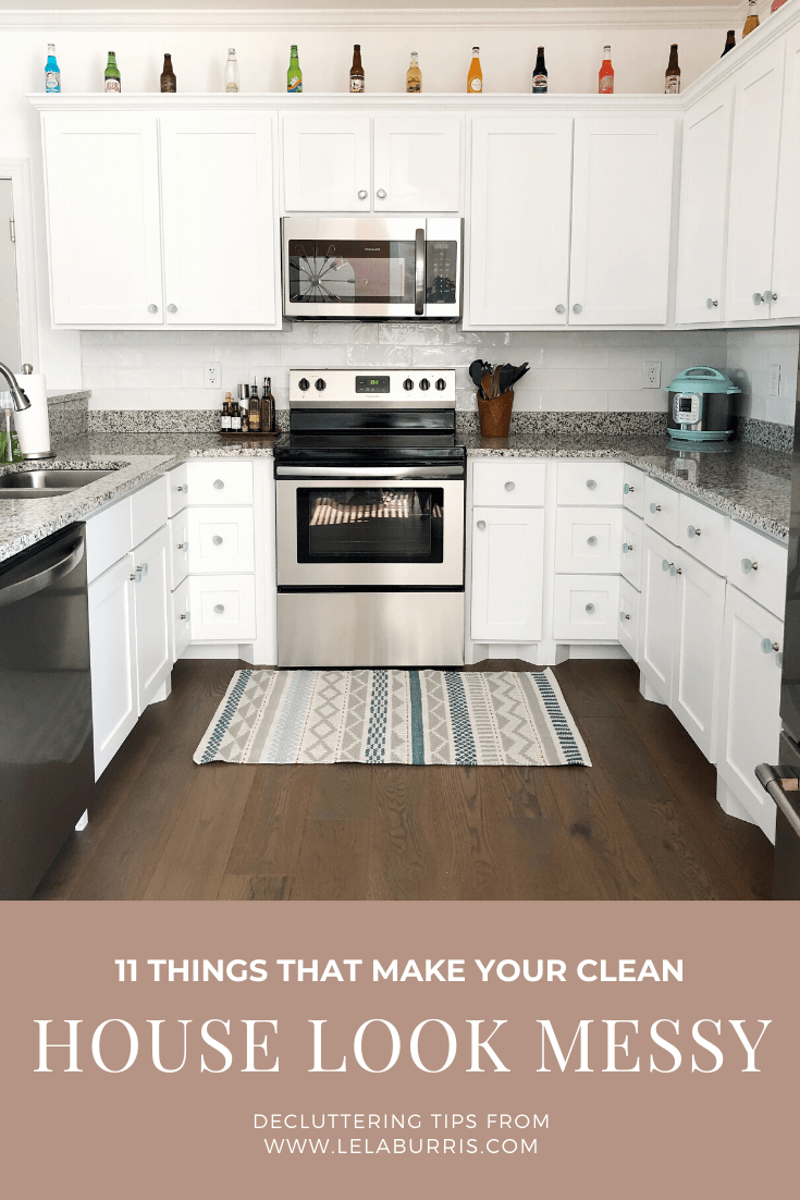 11 things that make your house look messy