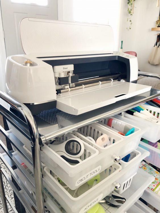 cricut maker storage and organization