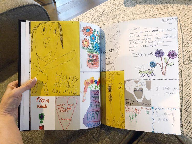 kids art book by Lela Burris Organized*ish