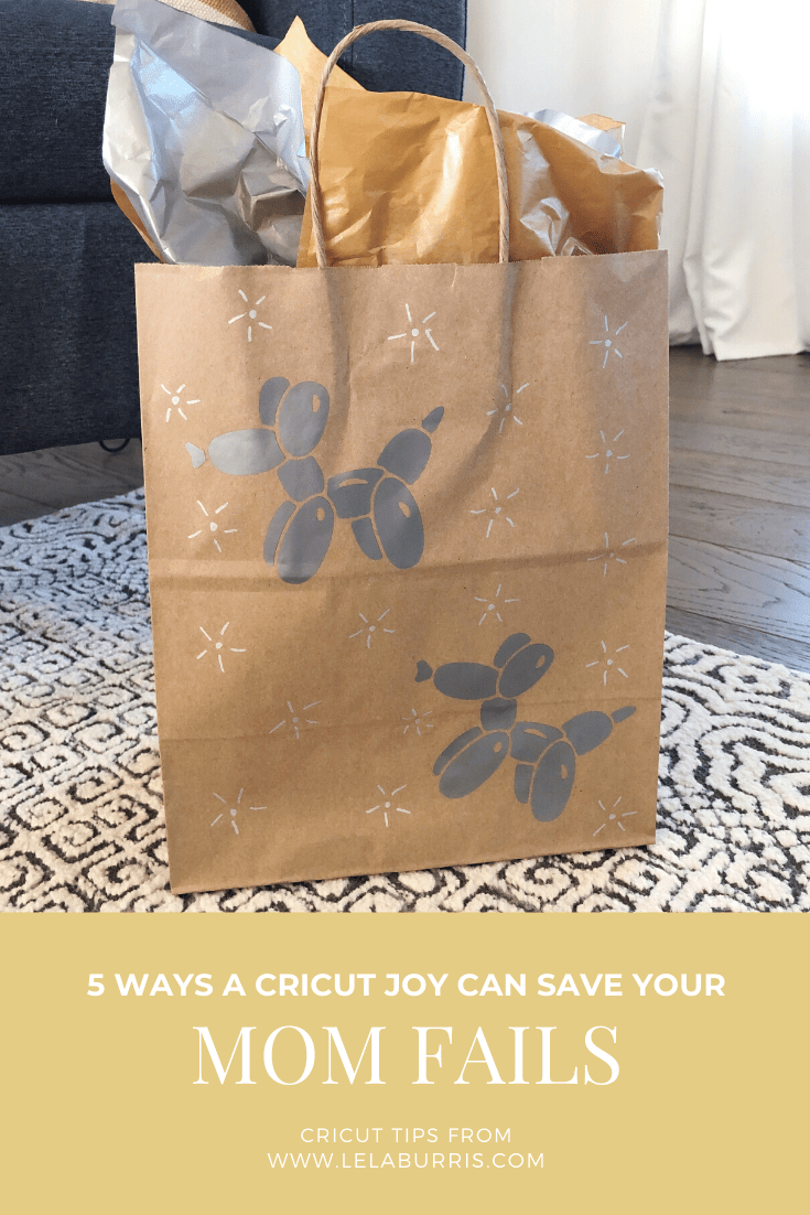 Cricut Joy quick projects for busy moms