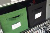 kids fabric bin labels by Lela Burris Organized*ish